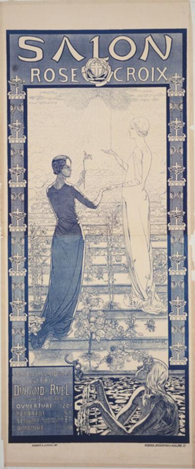 Carlos Schwabe, 'Poster for the first Salon de la Rose+Croix', 1892