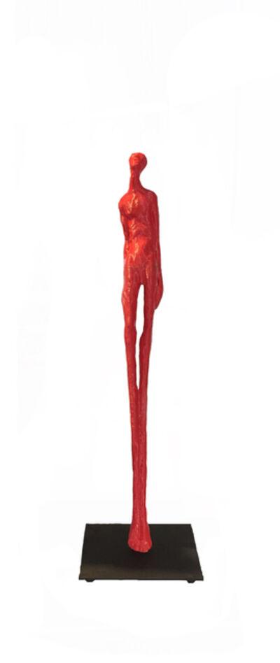 Marie-Josée Roy, 'Réceptif (red)', 2019