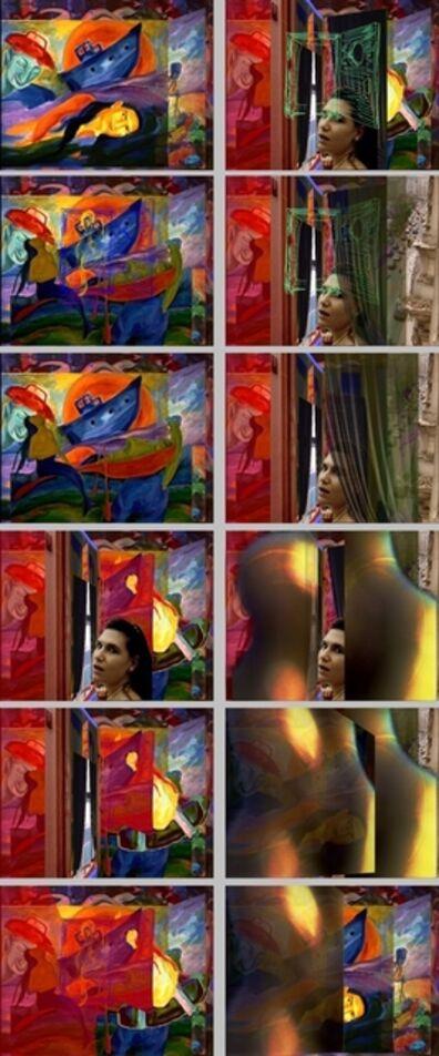 Johannes Deutsch, 'Patrizia Zeichnung Fenster', 1990-1992