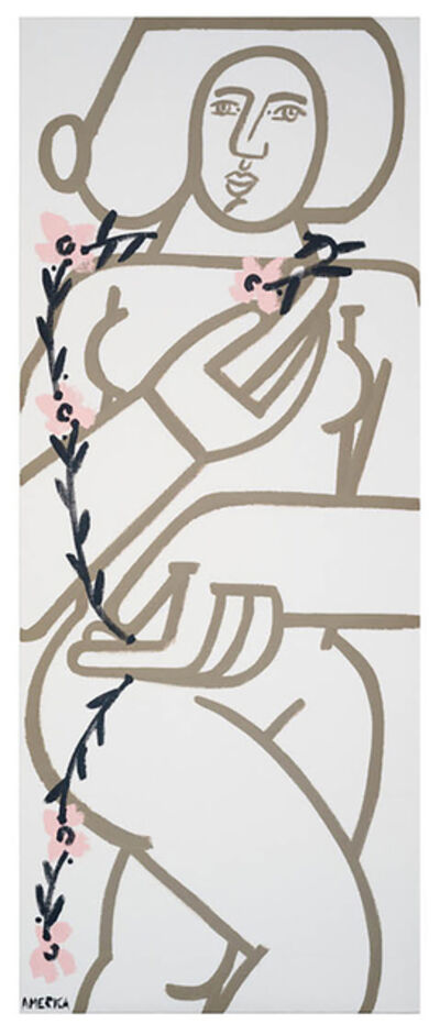 America Martin, 'Woman with Vines I', 2021