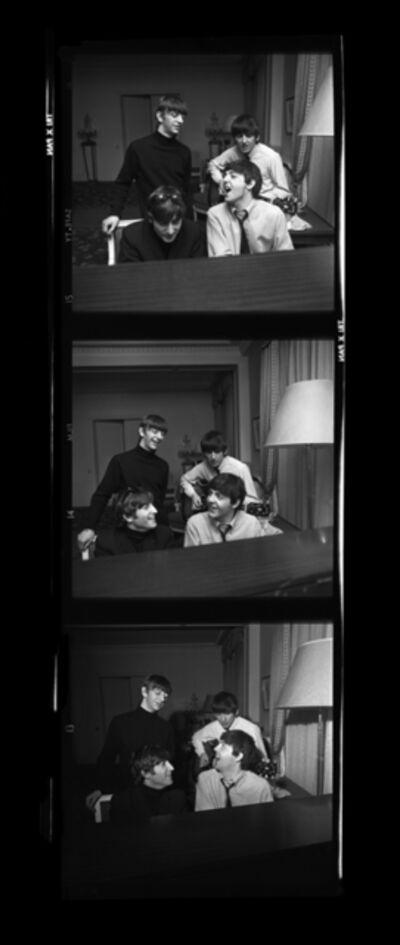 Harry Benson, 'Beatles Composing Times Three, Paris', 1964