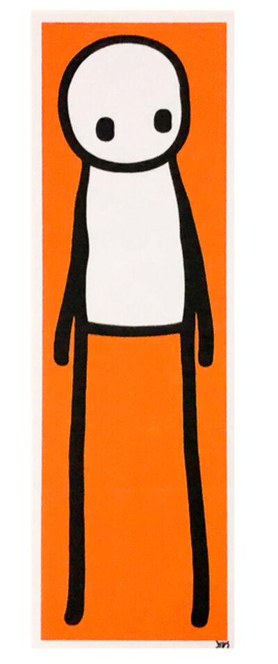 Stik, 'STANDING FIGURE (Orange Signed)', 2015