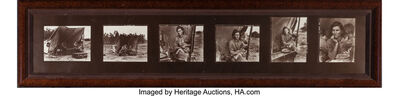 Dorothea Lange, 'Migrant Mother (contact sheet, six photographs)', 1936
