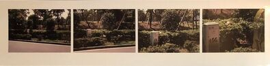 Skip Arnold, 'Vintage Color Photograph 'Hiding, Tokyo, Japan' 4 Photo Quadriptych Signed Ed.6', 1990-1999