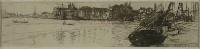 Otto Henry Bacher, 'Redentore, Venice', 1880
