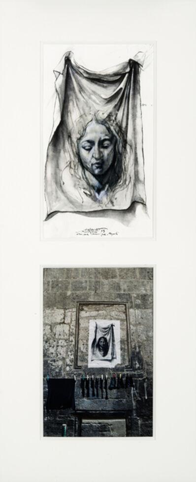 Ernest Pignon-Ernest, 'Naples (étude pour Véronique)', 1990