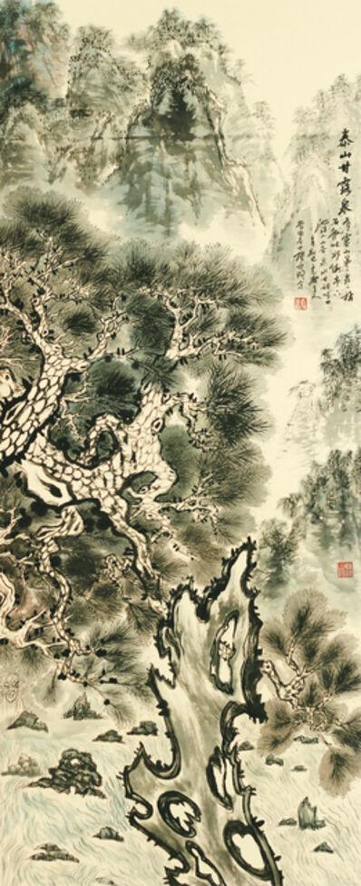 Zhang Yanyun, 'Spring of sweet dew 泰山十二春秋-甘露泉', 2012