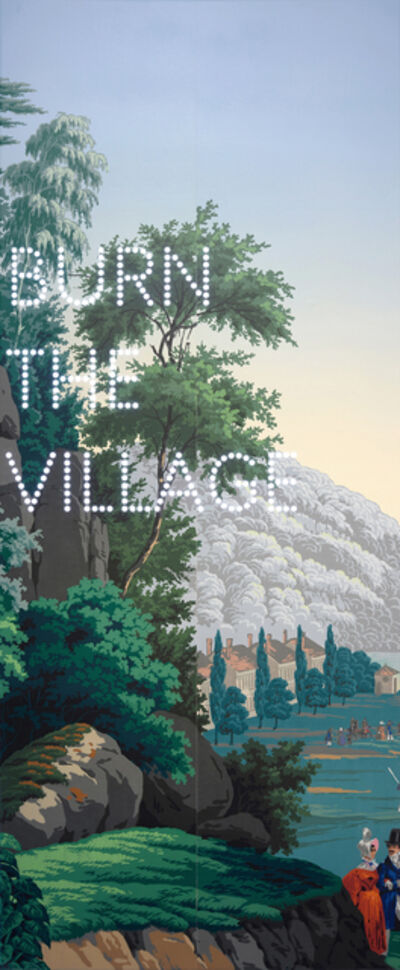 Nathan Coley, 'Burn The Village', 2019