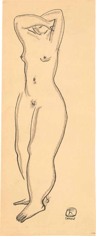 Sanyu, 'Standing Nude'