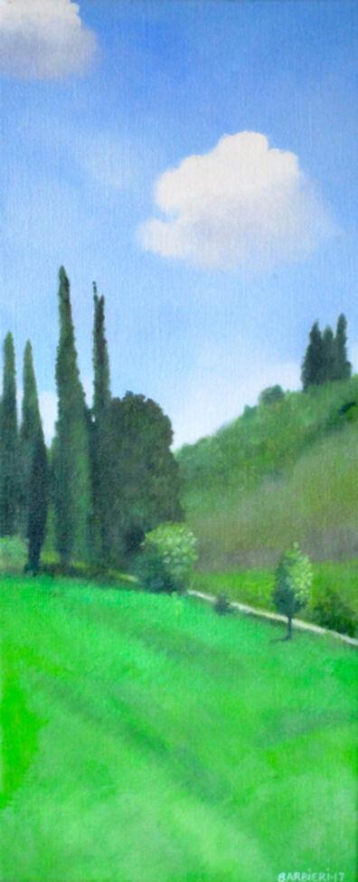 Joseph Barbieri, 'Cypresses Near Pienza', 2017