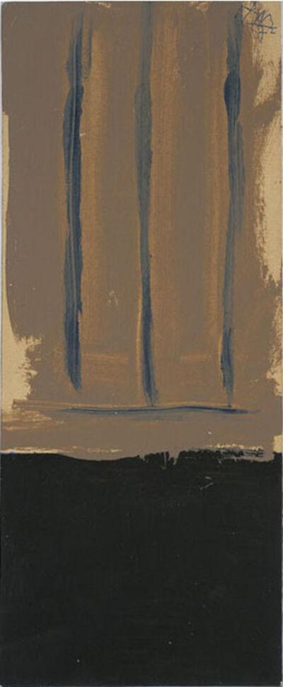 Robert Motherwell, 'Untitled (Ochre Open)', 1972
