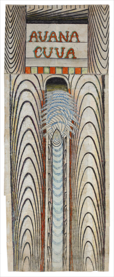 Martín Ramírez, 'Untitled, (Avana Cuua) (Avana Cuva)', ca. 1960-63