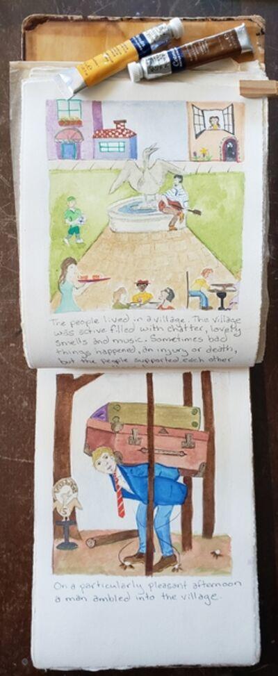Ellen Rosenholtz, 'Sketchbook Narrative 2', 2020