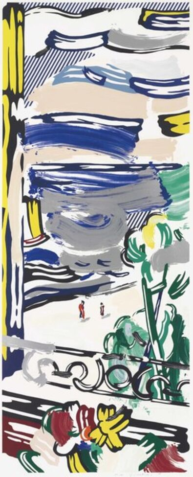 Roy Lichtenstein, 'View from the Window, from Landscape Series', 1985