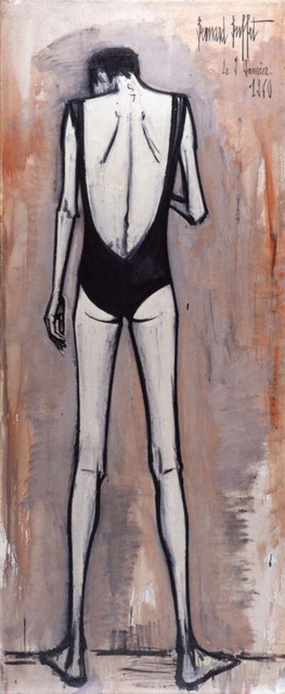 Bernard Buffet, 'Annabel de dos en maillot de bain', 1960