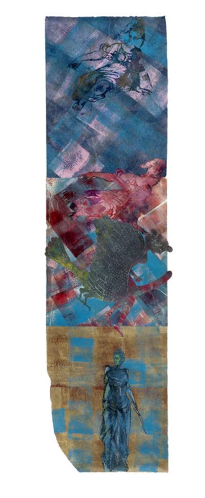 Nancy Spero, 'Athena - Leda - Diana - Victoire', 1996