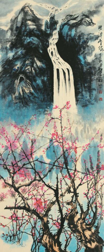 Zhang Yanyun, '泰山十二春秋-碧潭春晓', 2012