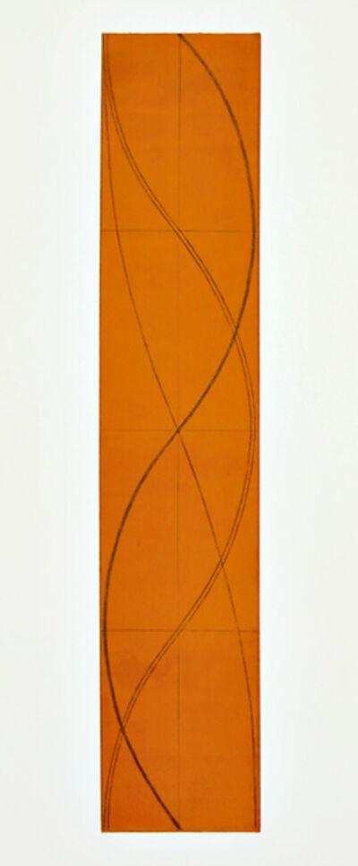 Robert Mangold (b.1937), 'Half Column B', 2005