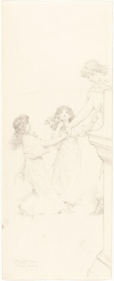 Sir Lawrence Alma-Tadema, 'A Dance in Spring', ca. 1910