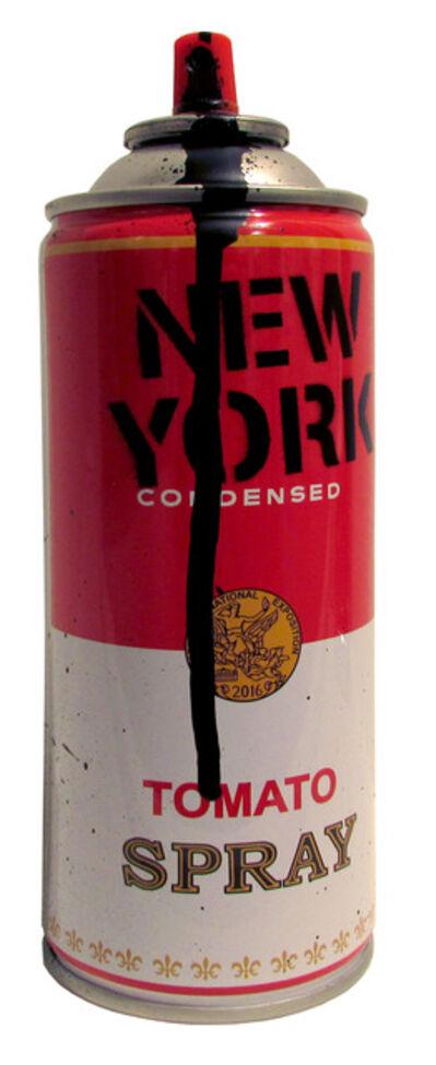 Mr. Brainwash, 'Spray Can: New York (Black)', 2016