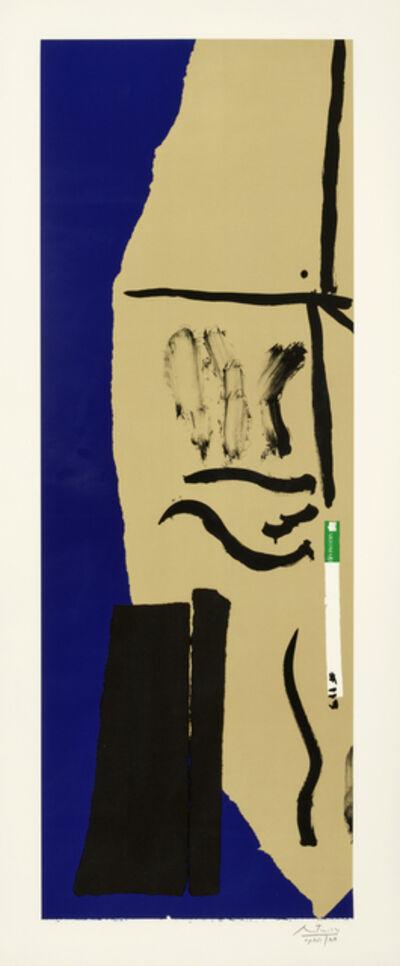 Robert Motherwell, 'America - La France Variations VIII (Engberg & Banach 336)', 1984