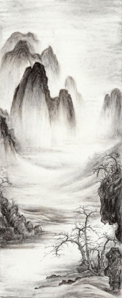 Yuan Hui-Li, 'Fiery Ink, Winter Evening Landscape by Li Gong-Nian', 2017