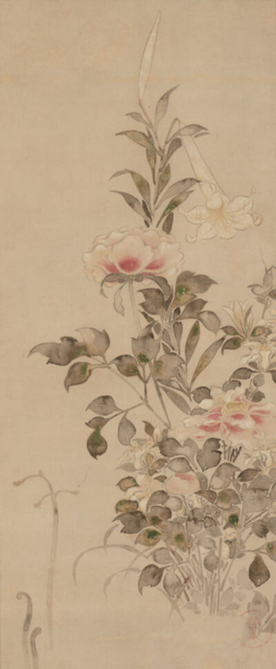 'Peonies and Lilies', Late 17th century