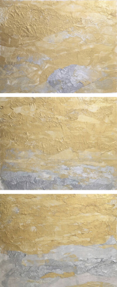 Mary Spears, 'Golden Sky | Silver Sea Triptych', 2018