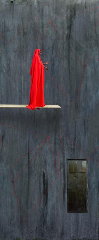 Maïmouna Guerresi, 'Red Trampoline', 2016