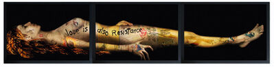 Yves Hayat, 'ART IS ALSO RESISTANCE - MARIE MADELEINE MORTE', 2013