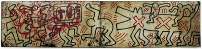 Keith Haring, 'Untitled (FDR NY) #3 & #4', 1984