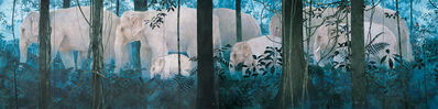 Yoichi Nishino, 'Family in the Forest・「森の家族」', 2006