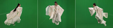 Isaac Julien, 'Green Screen Goddess, Triptych (Ten Thousand Waves)', 2010