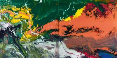 Gerhard Richter, 'P15 Flow', 2016