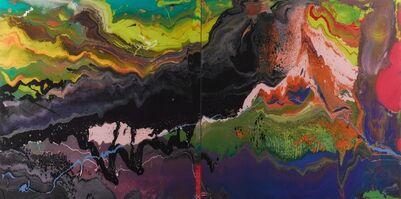 Gerhard Richter, 'P16 Flow', 2013