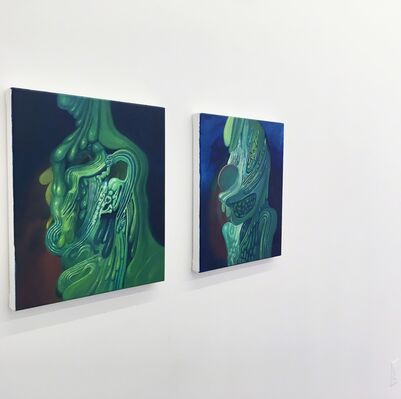 GERALD COLLINGS . NEW PAINTINGS, installation view