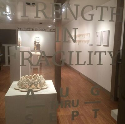 Strength in Fragility, installation view