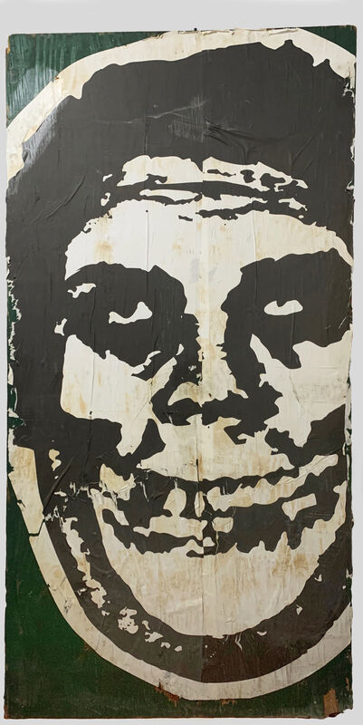 Shepard Fairey, 'OBEY x Misfits', 2017, Drawing, Collage or other Work on Paper, Paper mounted to plywood, VSOP Projects
