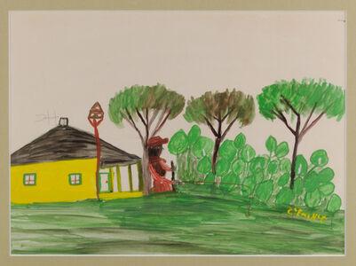 Clementine Hunter, 'All the Folks Kept Bee Martin Houses', 1945
