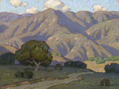 Tim Solliday, 'Oak Tree and Rolling Hills', 2019