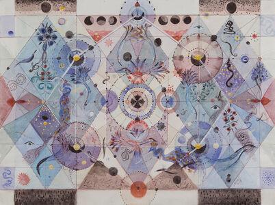 "Solange Knopf, 'Serie ""Cosmos"" No. 3', 2018"