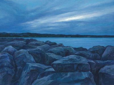Edward Duff, 'The Bay at Dusk', 2020