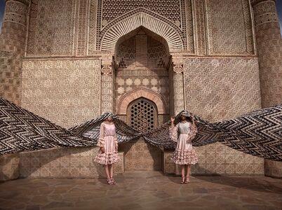Almagul Menlibayeva, 'My Silk Road to You IV', 2014