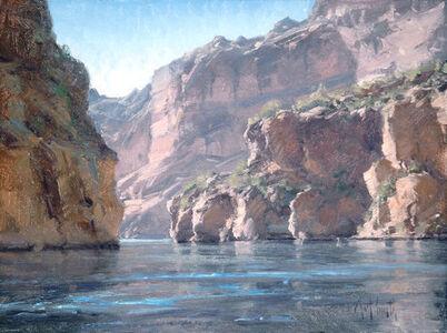 """Matt Smith (b. 1960), '""""Canyon Lake Cliffs"""" ', 2017"""