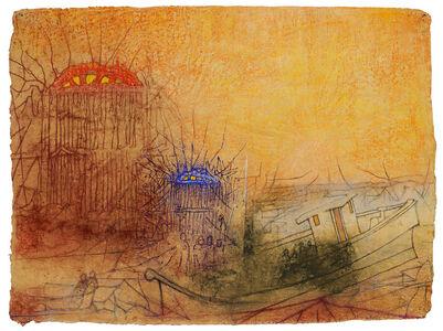 Irving Petlin, 'Storms (d'après Redon - Ocean door to...)', 2011
