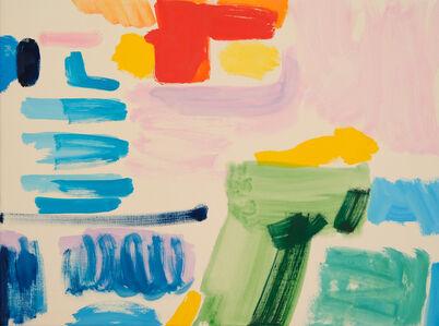 Tim Braden, 'Prussian, Green, Yellow, Cadmium Orange on Pink', 2019