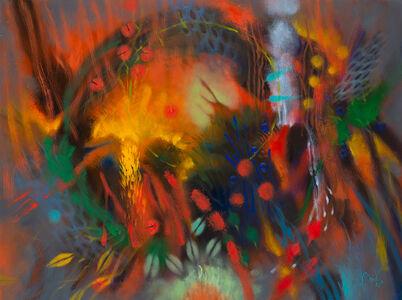 Carlos Jacanamijoy, 'Amanecer en flor (Sunrise in bloom)', 2018