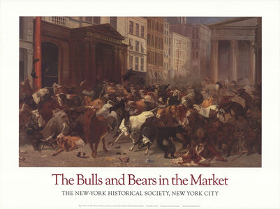 William Holbrook Beard, 'The Bulls and the Bears in the Market', 2001