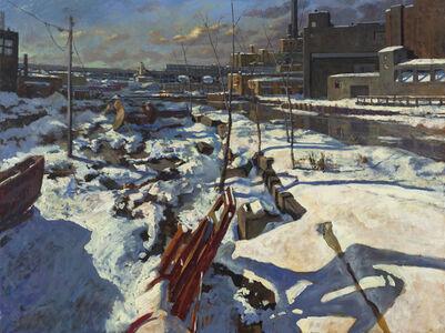 Derek Buckner, 'Snow Cover Evening Light'