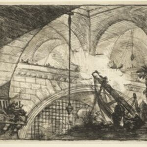Giovanni Battista Piranesi, '[The arch with a shell ornament]', 1758-1800